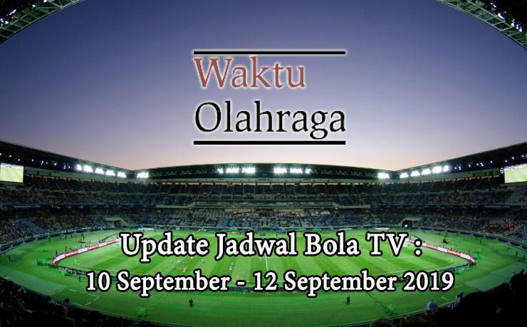 JADWAL WAKTU OLAHRAGA 10 - 12 SEPTEMBER
