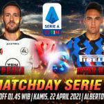Prediksi Spezia vs Inter Milan Liga Italia 22 April 2021