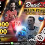 Prediksi Skor Belgia vs Rusia EURO 2020, 13 Juni 2021