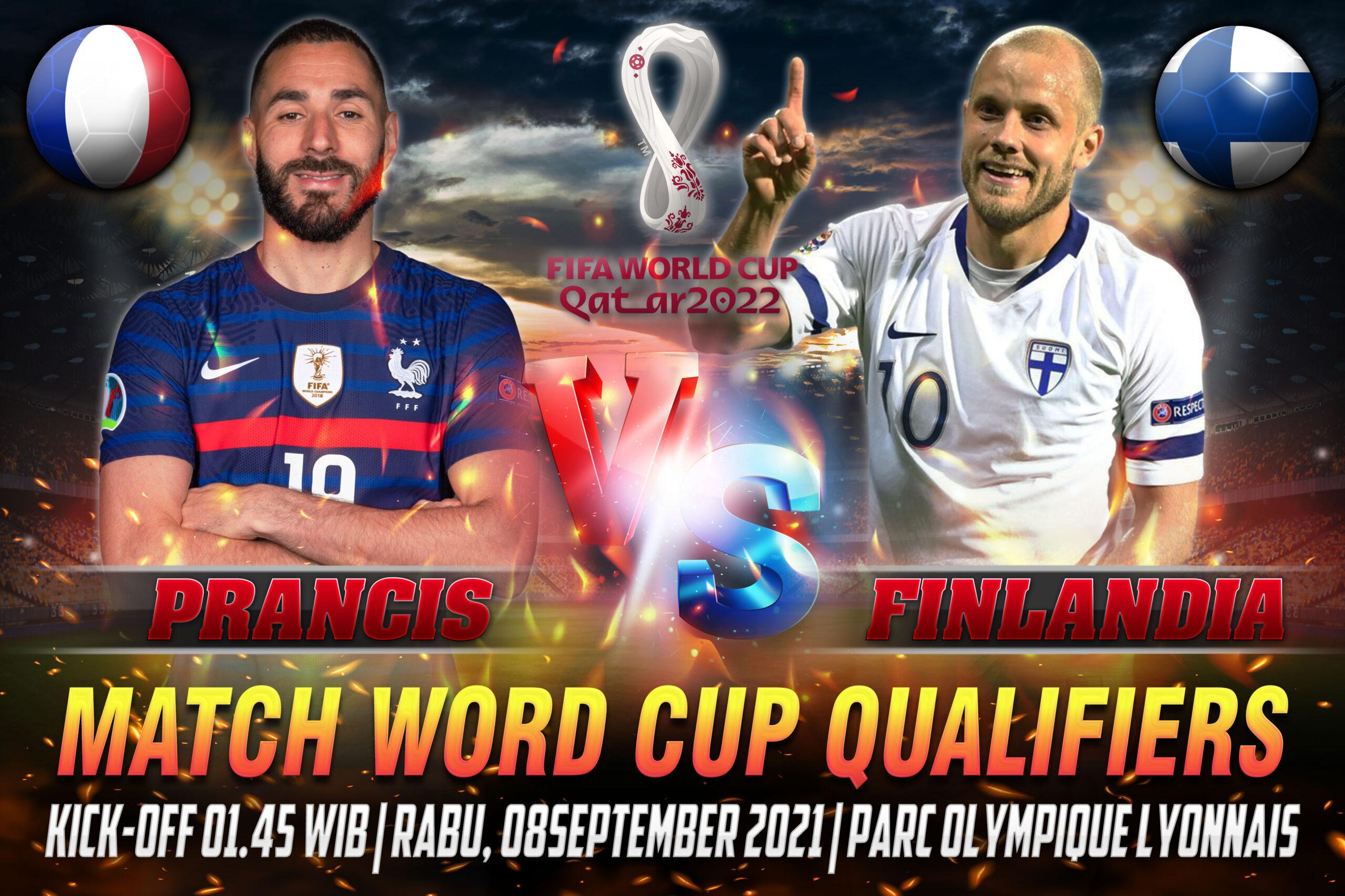 Prediksi Skor Prancis vs Finlandia Word Cup Qualifiers