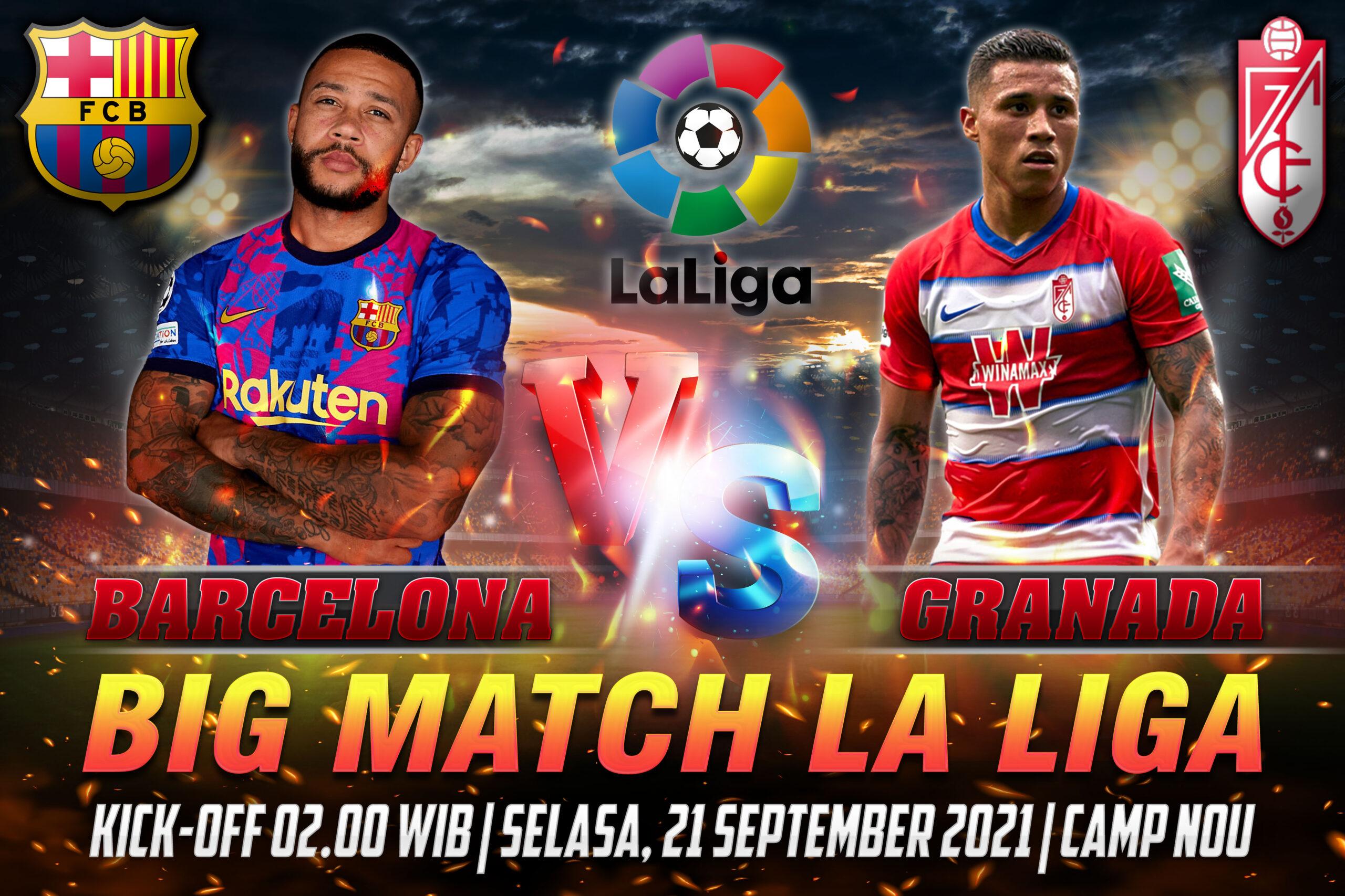 Prediksi Skor Barcelona vs Granada Liga Spanyol