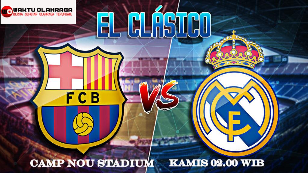 Prediksi Skor Barcelona vs Real Madrid 19 Desember 2019
