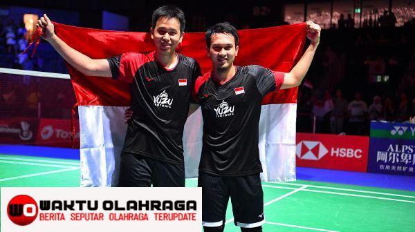 Selamat Timnas indonesia Hendra/Ahsan Juara BWF world Final 2019