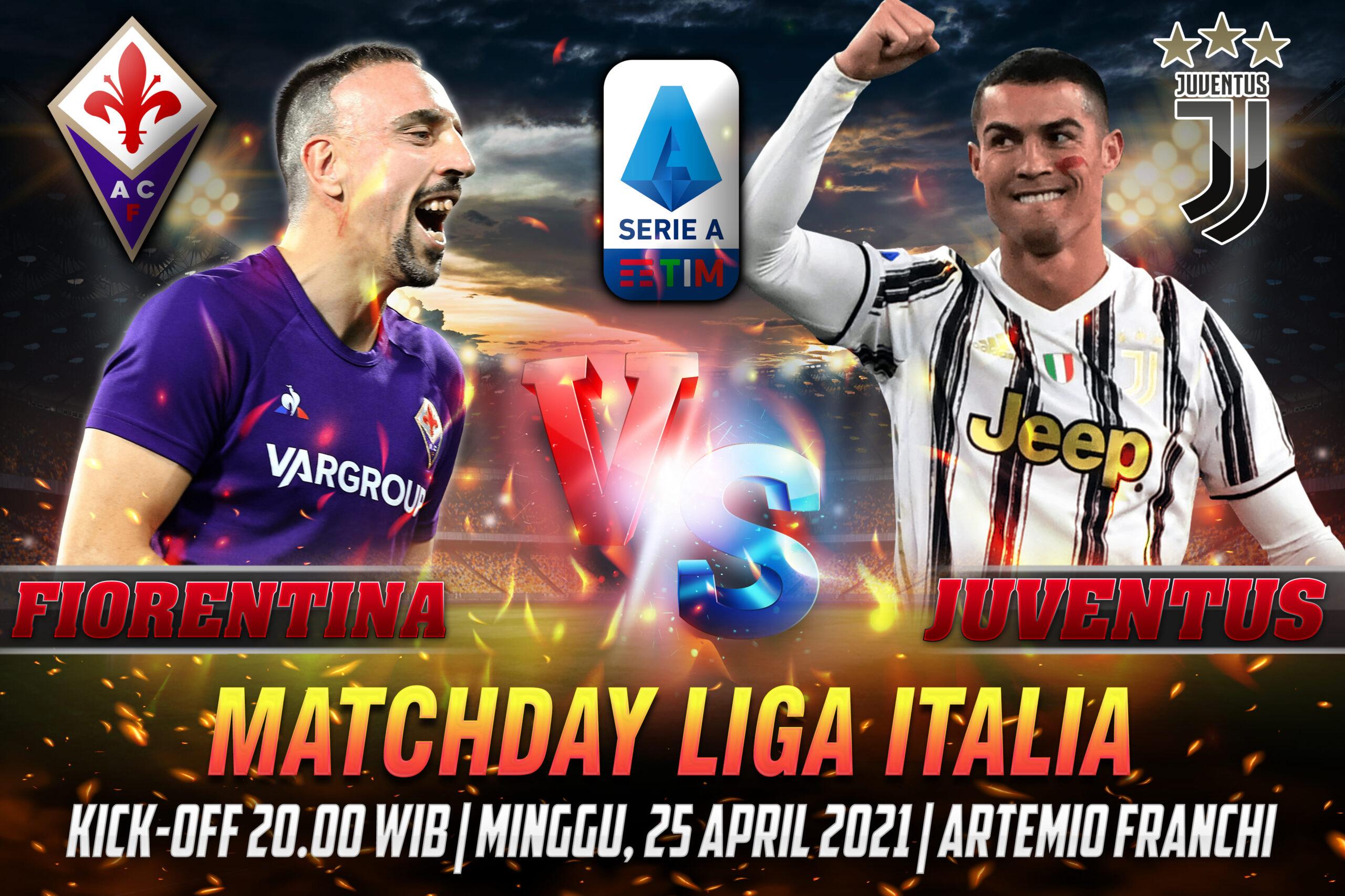 Prediksi Bola Liga Italia Fiorentina VS Juventus 24 April 2021