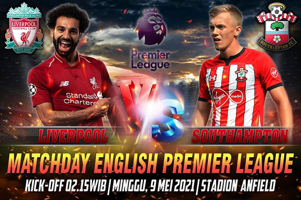 Prediksi Skor Liverpool vs Southampto