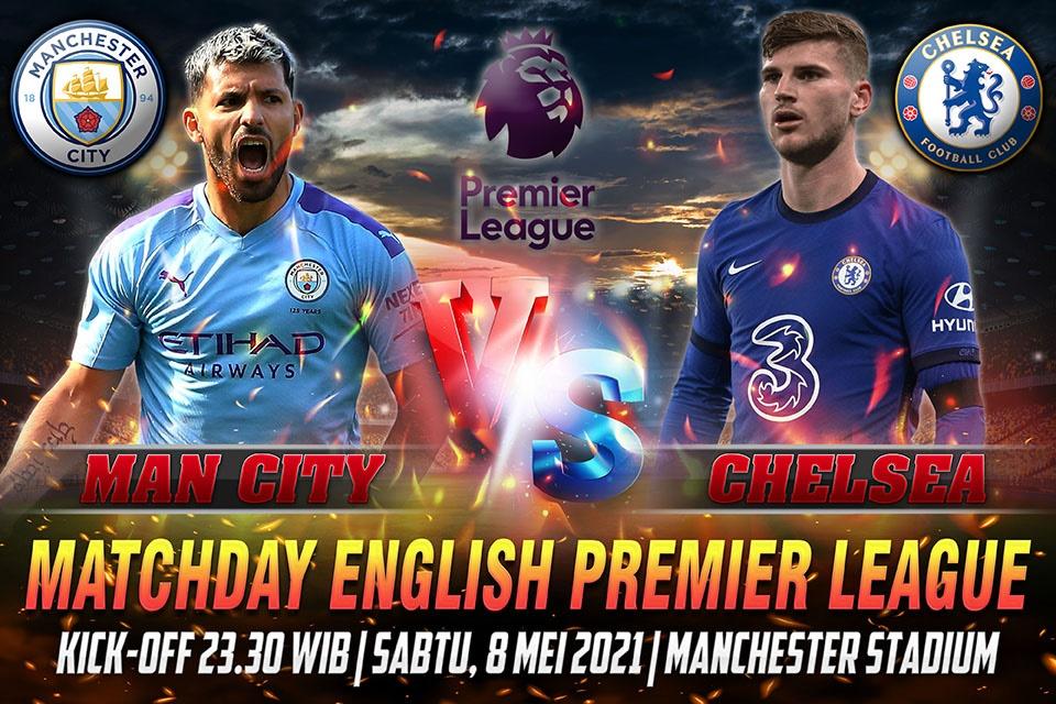 Prediksi Man City vs Chelsea