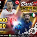 Prediksi Skor Turkey vs Italy EURO 2020, 12 Juni 2021