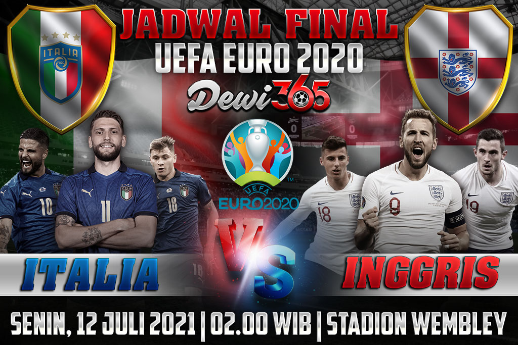Jadwal Final UEFA Euro 2020